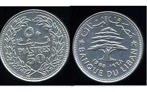 LIBAN  50 piastres   1968