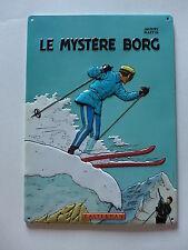Jacques Martin - Le mystère Borg - plaque émaillée