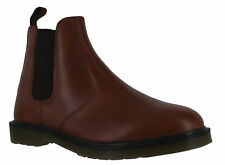 OakTrak Winterhill Mens Brown Leather Slip On Dealer Chelsea Boots