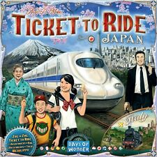 Japan & Italy Ticket To Ride Expansion Map Collection #7 Board Game DOW DO7232
