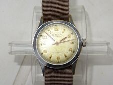 Vintage Circa 1940's Swiss Made Mens Seeland Military Style Watch