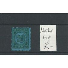 Ned. INDIE  P4A met puntstempel 91  VFU/gebr  CV 40+ €