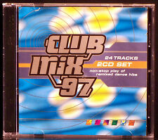 Club Mix '97 - Non-Stop Play of Remixed Dance Hits (2 CDs, 1997 BMG) 24 Tracks!