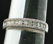 Unbehandelte runde Ringe mit Edelsteinen für Hochzeiten Sets