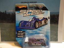 Hot Wheels Speed Machines Purple Cadillac LMP