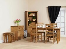 Solid Wood Up to 6 Seats Dining Tables Sets with 5 Pieces