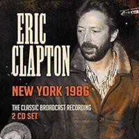Eric Clapton - New York 1986 (2cd) NEW 2 x CD