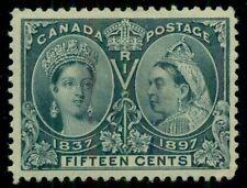 CANADA #58 15¢ Jubilee, og, LH, VF+, Scott $275.00