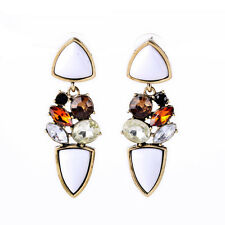 Kiss me 2016 newest Fashion Classic Charming Triangle stud Earrings ed01041