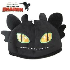 """Night Fury Toothless 28cm/11"""" Plush Hat Cap Beanie from How to Train Your Dragon"""