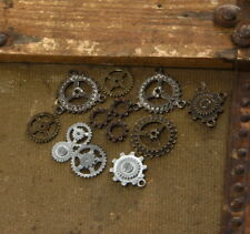 SteamPunk Cosplay Victorian Style Industrial Bag of Assorted Gears, NEW  UNUSED