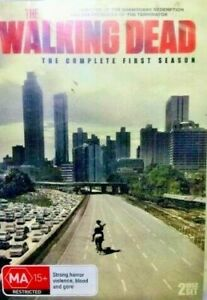 The walking dead the complete first series  dvd ds259 Multi region player requir