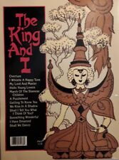 """MUSIC MINUS ONE - VOCAL, """"THE KING AND I"""" -  YOU SING THE SHOW, CD, WORDS"""