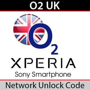 O2UK Sony Xperia Unlock Code