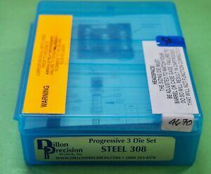 Dillon .308 Win-(Steel)-3-Die Set-(15574)-NEW-in sealed box