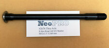 NeoPRO Shimano Road E-THRU Rear Hub Thru-Axle  142 * 12 mm (160mm) BLACK (#2676)