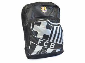 Barcelona FC Black Backpack Rucksack Sports Bag