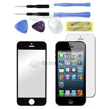 Black LCD Screen Glass Lens Replacement+Film Guard for Apple iPhone 5 5G +Tools