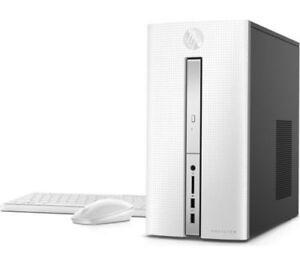 HP Pavilion 570-P088NA Intel i7-7700 3.6GHz Quad Core Escritorio PC - Windows 10