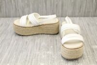 Coolway Cessy Espadrille Sandal - Women's Size 6 - White