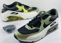 Nike Air Max 90 Ultra 2.0 Pale Citron Black White 876005-700 Men's Size 11