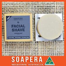 1x Cypress facial shaving soap -all natural handmade vegan soap-Aussie made
