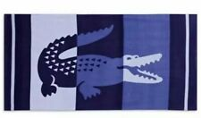 LACOSTE LARGE ALLIGATOR BEACH TOWEL 36X72 INCHES