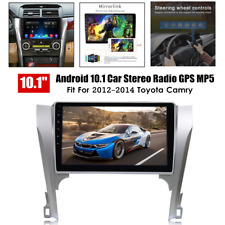 10.1'' Android 10.1 Car Stereo Radio MP5 GPS Navi FM Fit For Toyota Camry 12-14
