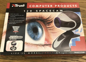 Trust 120 Spacecam. USB PC Video Camera.Video Conferencing. Editing Software.