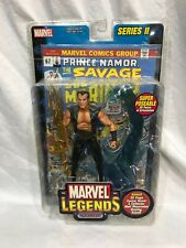 Marvel Legends PRINCE NAMOR SERIES II NIB WITH COMIC BOOK AND MOUNT 2002