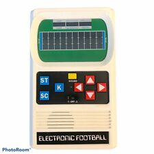 Football Handheld Electronic Game 70's Retro Mattel Classic Sounds Lights Tested