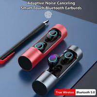 USA Wireless Bluetooth Headset 5.0 Headphones Sport Waterproof Earbuds Earphone