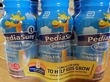 PediaSure Grow And Gain Chocolate Shake For Kids, 8 Fl Oz Pack Of 6, Exp 9/2021