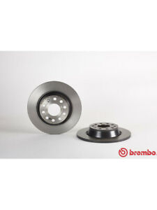 2 x Brembo Brake Rotor FOR AUDI A4 B6 (08.A202.11)