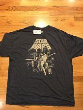 Star Wars Men's Shirts Size XXL T-Shirt Darth Vader Yoda Luke Skywalker BNWT