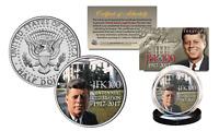 President KENNEDY JFK 100 Birthday 2017 Genuine JFK Half Dollar White House Lawn