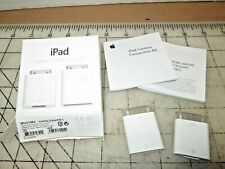 Apple iPad Camera Connection Kit SD Reader MC531ZM/A - unused