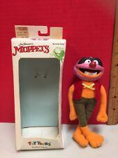 "Muppets Animal Toy Toons 7"" Stuffed Figure 1991"