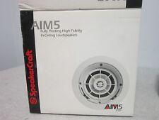 """SpeakerCraft AIM5 One, 5-1/4"""" Fully Pivoting High Fidelity In-Ceiling Speaker"""