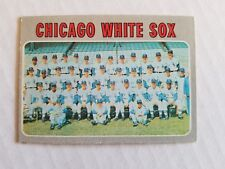 1970 TOPPS #501 Chicago White Sox / Ungraded - Appears Nice / 69 Baseball Season