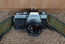 Minolta XE-1 with shoulder strap