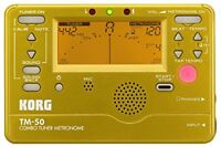 KORG Tuner / Metronome TM-50 GD Gold NEW from Japan