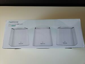 NEW IN OPEN BOX - MeshForce Whole Home Mesh WIFI System (Model M3/M3s)