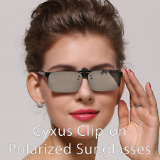 Polarized Mirror Sunglasses Clip On Sun Glasses Unisex Anti Glare Men Women New