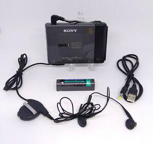 Sony Walkman MZ-E2 Portable MiniDisc MD player *Works*