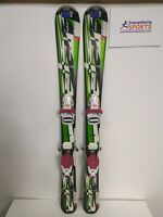 Elan Exar Pro 100 cm Ski + BRAND NEW Rossignol 2.5 Bindings Winter Sport Fun Kid