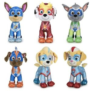 Official Paw Patrol Super Paws Mighty Pups Plush Toys 37cm
