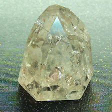 "Rainbow Quartz Crystal Terminated Point Standing Rock Brazil Stone 2.25"" 5oz RQ9"