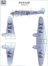 LPS Decals 1/72 LOCKHEED ELECTRA PANAIR AIRLINES
