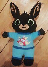 "Bedtime Bing Bunny In Blue Pyjamas. 13.5"" inc. ears () ()"